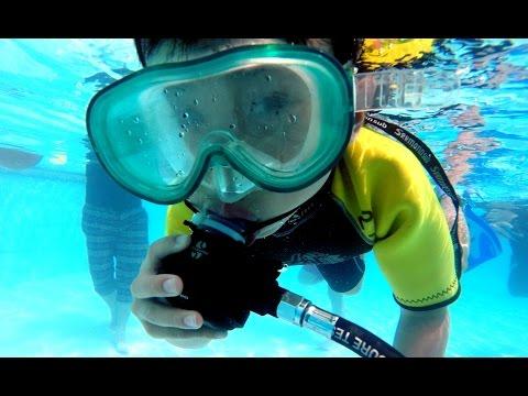 Children Learn Scuba Diving In Our Dive School