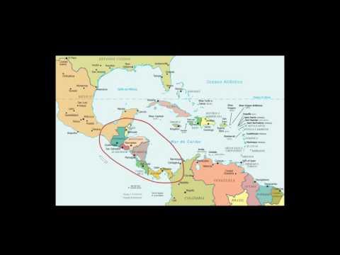 América Central Aspectos Físicos