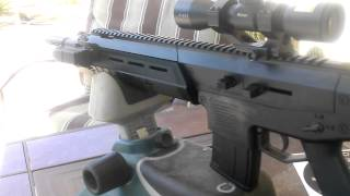 crosman Mk 177 with nikon p-223 ar scope