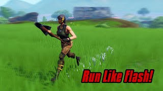 Run 4x Faster In Fortnite (Speed glitch) Fortnite Glitches Season 7 2019