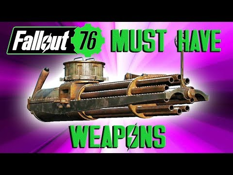 Fallout 76 Top 10 Essential Weapons thumbnail