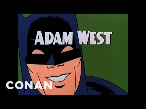 Conan Remembers Adam West  - CONAN on TBS