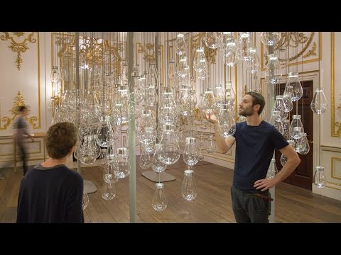 "Mischer'Traxler's interactive Curiosity Cloud installation is ""like being in a dream"""