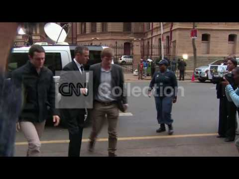 SOUTH AFRICA:OSCAR PISTORIUS ARRIVES TO COURT