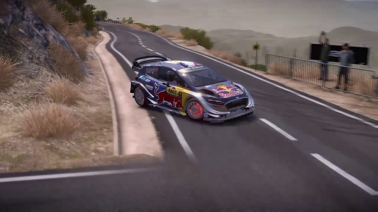 Rally Spain In Wrc7 Ford Fiesta Rs Wrc 2017 Youtube