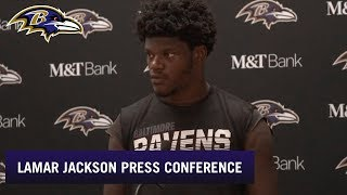 Lamar Jackson Full Press Conference After Week 3 Loss to Chiefs | Baltimore Ravens