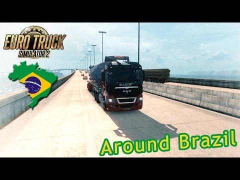 Brazil - Euro Truck Simulator 2 - EAA Map