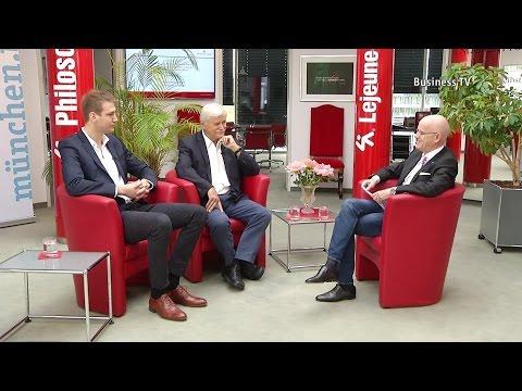 Brennpunkt Wirtschaft: Prof. Dr. Heinrich Netz und Simon Arndt