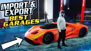 GTA Online: Import/Export DLC - BEST 60 GARAGE TO OWN + BEST VEHICLE WAREHOUSE