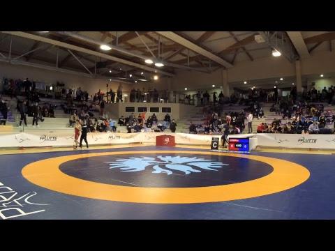 Finales championnats de France minimes - Lutte Libre