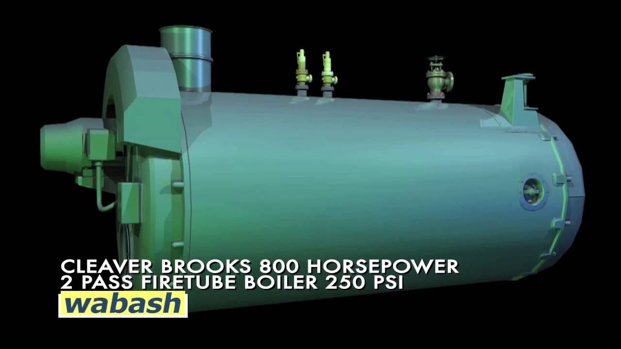 Wabash Power 800HP Mobile Steam Plant - Portable Boiler Room Rentals ...