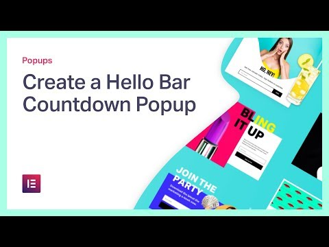 Create a Hello Bar Countdown Popup in WordPress