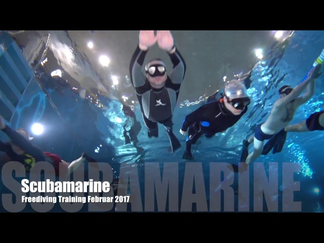 Freediving Training Februar 2017