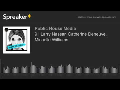 9 | Larry Nassar, Catherine Deneuve, Michelle Williams