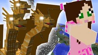 Minecraft: THREE HEADED DRAGON OF DOOM MISSION! - Custom Mod Challenge [S8E85]