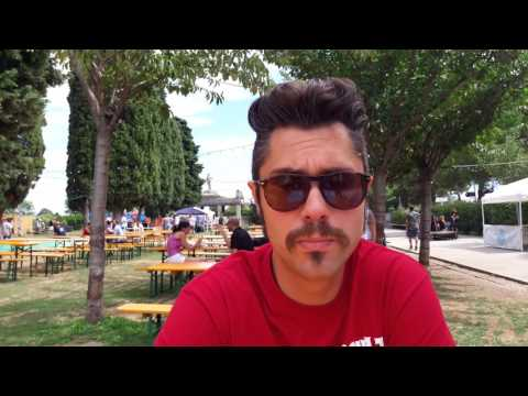 Mattia Neri from Proton Packs (interview at Punk Rock Raduno 2017)