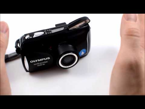How To Use An Olympus MJU Zoom 80 Film Camera | Unintentional ASMR