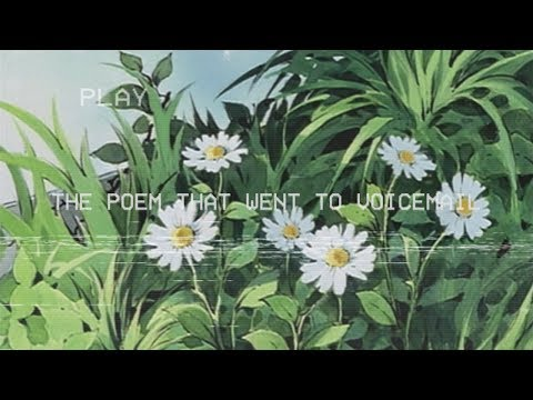paper latte - the poem that went to voicemail