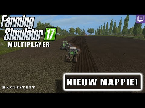 "{NL} ""NIEUW MAPPIE!"" FarmingSimulator 17 Multiplayer OPEN SERVER Hagenstedt {G29} TW UPLOAD 29-10-17"