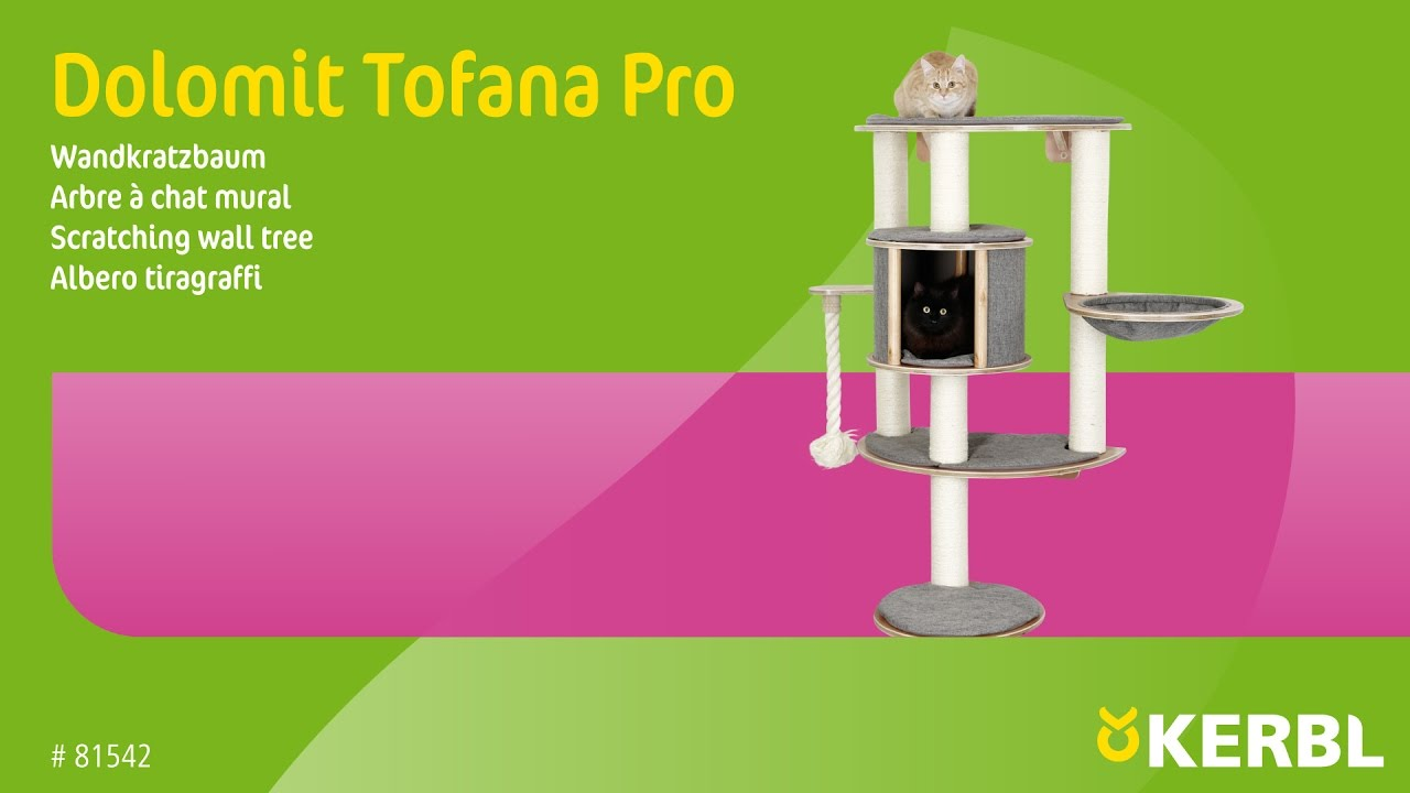Arbre A Chat Mural Design wall-mounted cat tree dolomit tofana pro