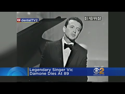 Legendary Singer Vic Damone Dies At 89