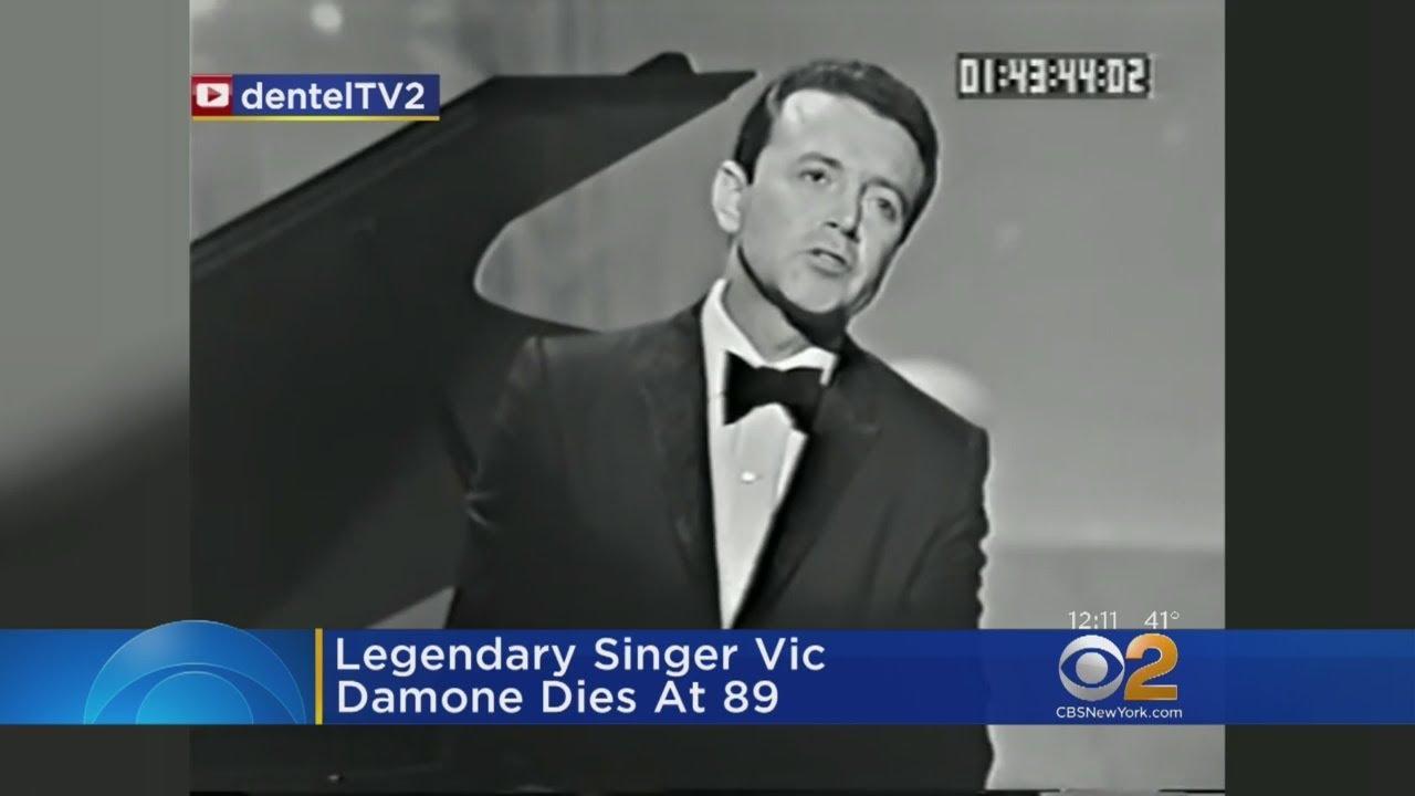 Singer Vic Damone dies in Florida at 89