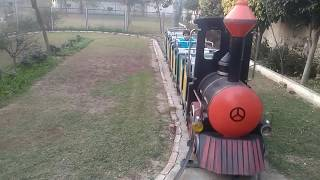 Toy Train in Punjab Moga city park || IVT || thomas train videos