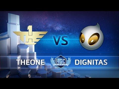 Team Dignitas vs TheOne vod
