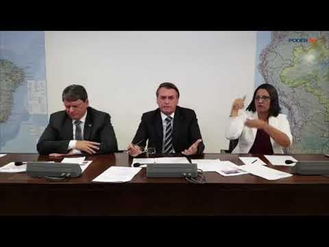 'Pretendo beneficiar meu filho, sim', diz Bolsonaro sobre indicação à embaixada nos EUA