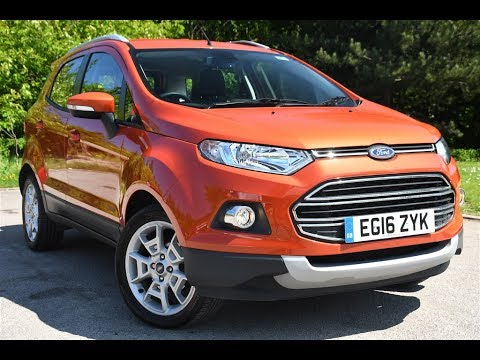 used ford ecosport 1 5 titanium 5dr powershift mars red 2016 youtube. Black Bedroom Furniture Sets. Home Design Ideas