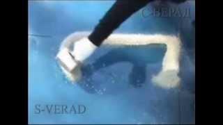 Сорбент С-ВЕРАД - сбор дизельного топлива(Принцип действия сорбента С-ВЕРАД на примере разлитого дизельного топлива., 2012-08-15T13:31:37.000Z)