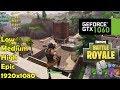 GTX 1060, Ryzen 5 1600 | Fortnite - 1080p All Settings