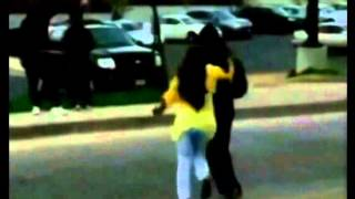 Woman Caught On Camera Pulling Son Off Street During Baltimore Roit