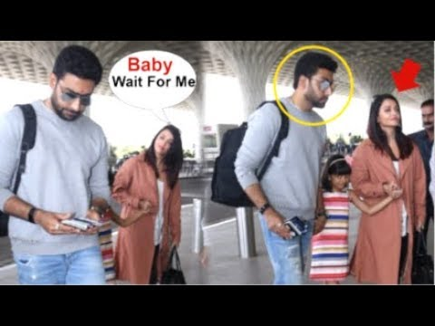 Aishwarya Rai AVOIDS Posing For Media While With Daughter Aardhya Bachchan & Hubby Abhishek Bachchan