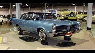 1965 Pontiac GTO Hardtop in Fontaine Blue Paint & Engine Start Up on My Car Story with Lou Costabile