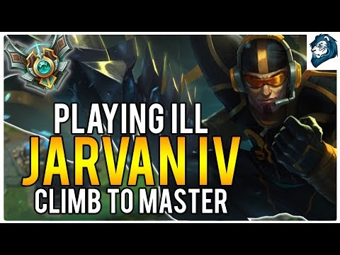 PLAYING WHILE ILL ON JARVAN TOP - Climb to Master | League of Legends