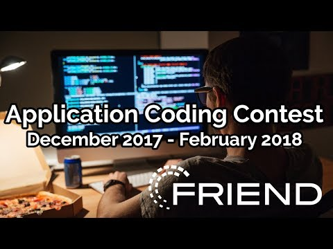 Friend: Application Coding Competition 2017-2018