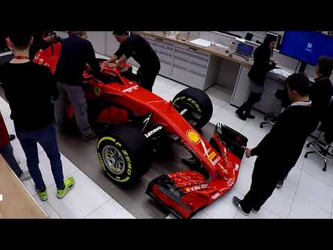 F1 2018 - Ferrari SF71 launch - Car details and stickering