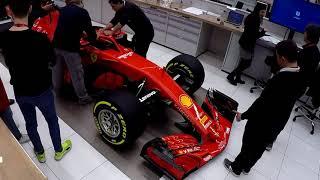 F1 2018 - Ferrari SF71 launch - Car details and stickering