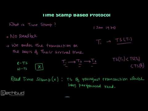 Understanding Basics of Timestamp Protocol | Concurrency Control