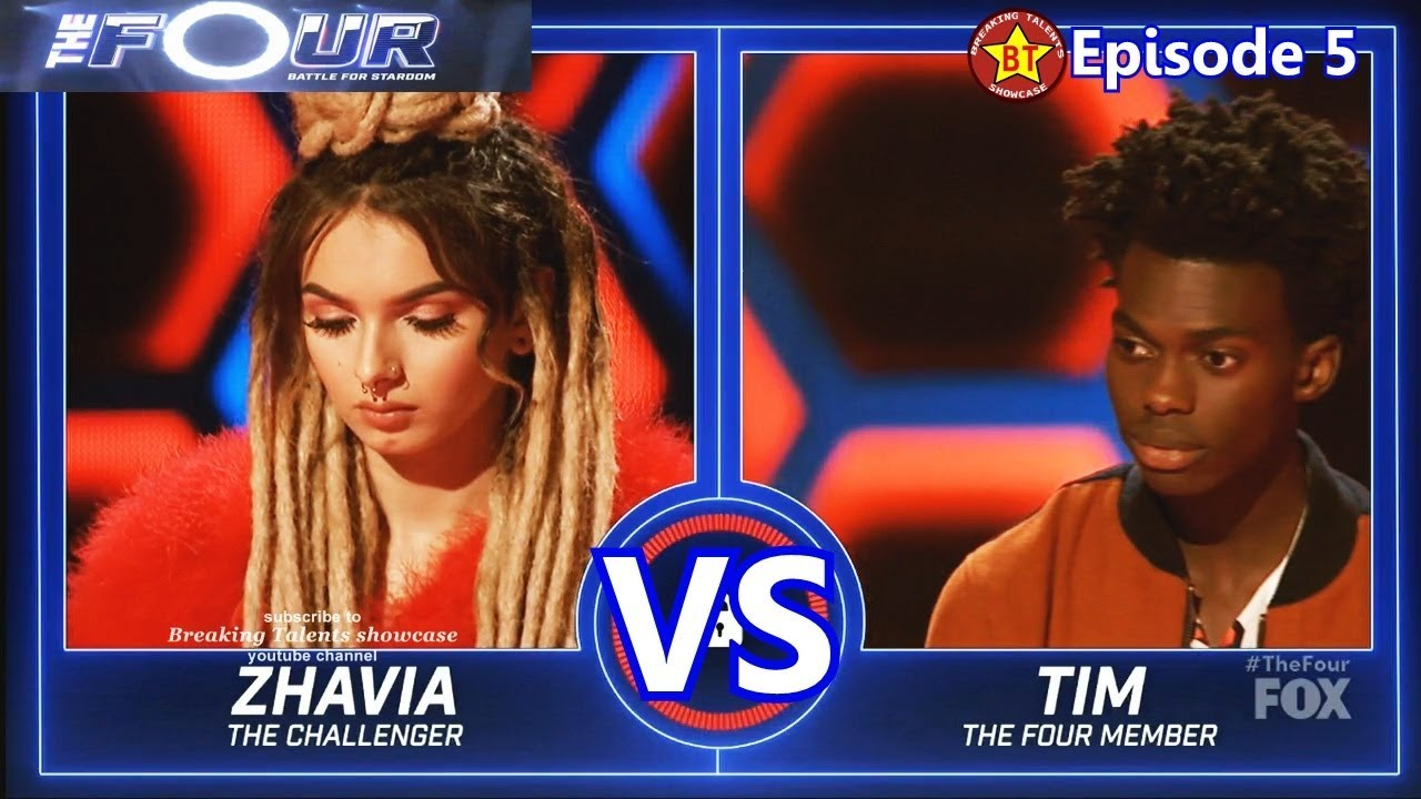 Download Zhavia vs Tim Johnson Jr performance with Results &Comments The Four S01E05 Ep 5