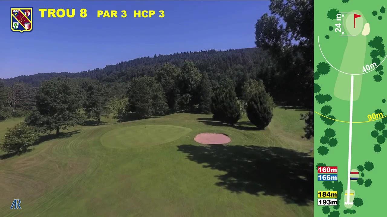 Vidéo du trou numéro 8 | Golf La Barouge Mazamet