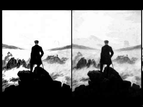 wanderer above the sea of fog caspar david friedrich video art youtube. Black Bedroom Furniture Sets. Home Design Ideas