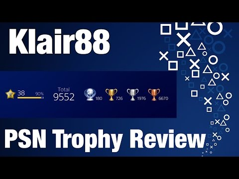 My PSN Trophy Collection! 150+ Platinums