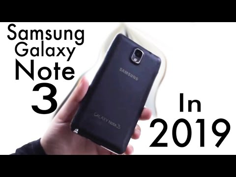Samsung Galaxy Note 3 In 2019! (Still Worth It?) (Review)