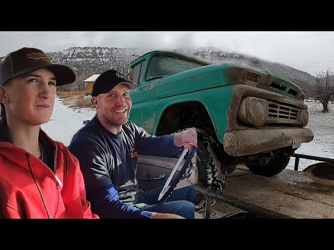 TUNING up a Youngster's '62 CHEVY PICKUP!!