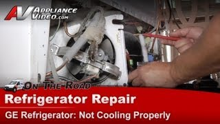 Refrigerator Repair & Diagnostic Not Cooling Ge General Electric, Rca, Hotpoint Tfx25qrceww