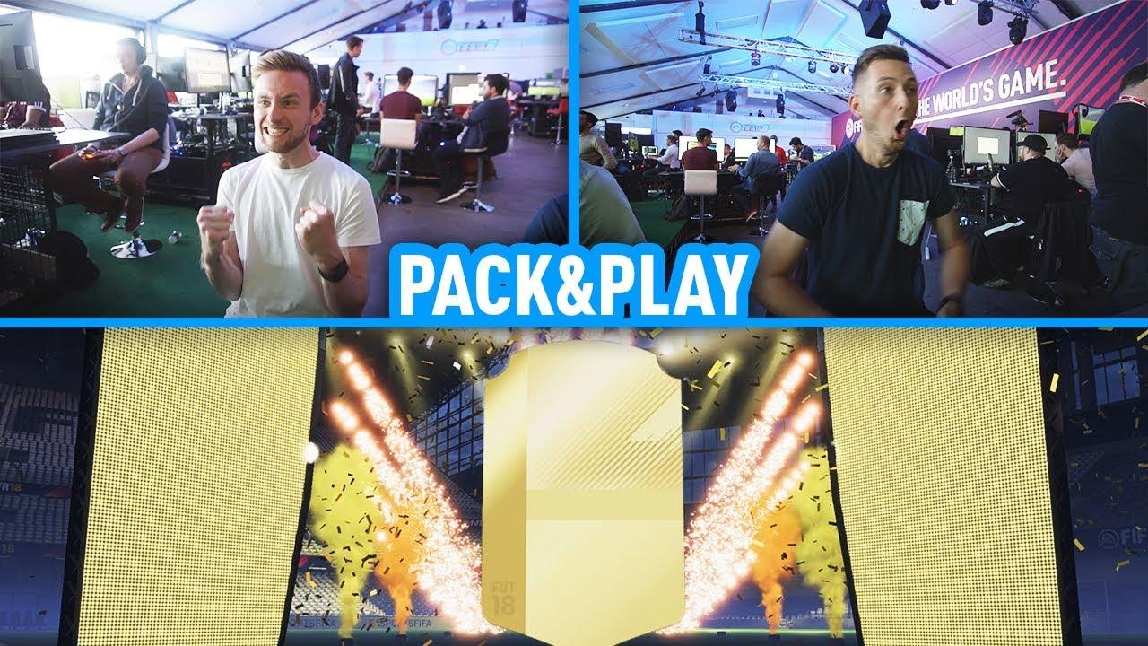 PIERWSZE STARCIE PACK&PLAY Z LACHEM W FIFIE 18