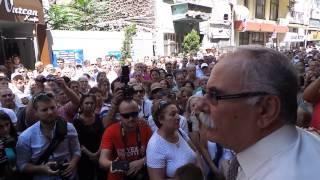 Çanakkale Belediye Başkanı Ülgür Gökhanın Konuşması