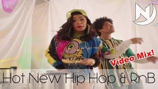Hot New Hip Hop & RnB Rap Trap Black Urban Mix January 2018 | Best New RnB Club Dance Music #38🔥